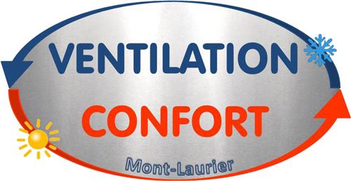 Logo de Ventilation confort Mont-Laurier. Un partenaire de Réfrigération Pierre Larente