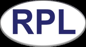 Logo de Réfrigération Pierre Larente couleur inversé